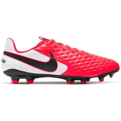 Nike voetbalschoen Legend 8 Academy FG/MG - 606 LASER CRIMSON/BLACK-WHITE