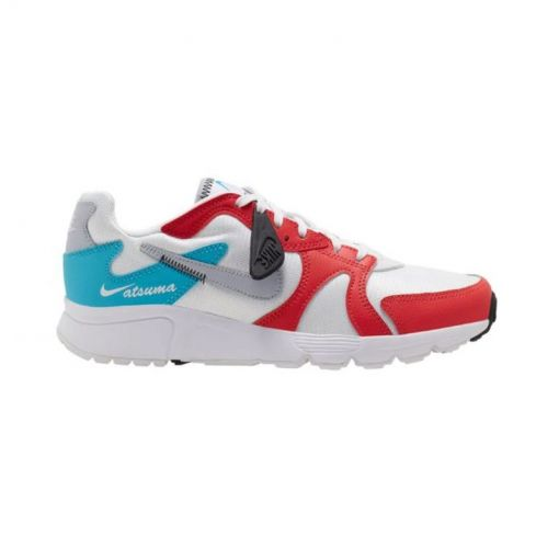 Nike dames schoen Atsuma Women's Shoe - 101 WHITE/SKY GREY-TRACK RED-B