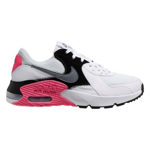 Nike dames sneaker Air Max Exceed - 100 WHITE/COOL GREY-BLACK-HYPE