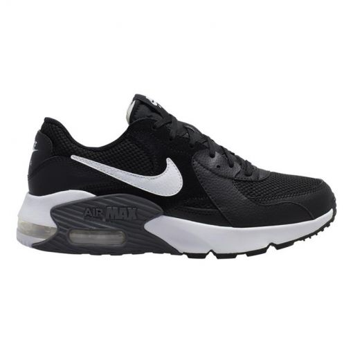 Nike dames sneaker Air Max Exceed - 003 BLACK/WHITE-DARK GREY