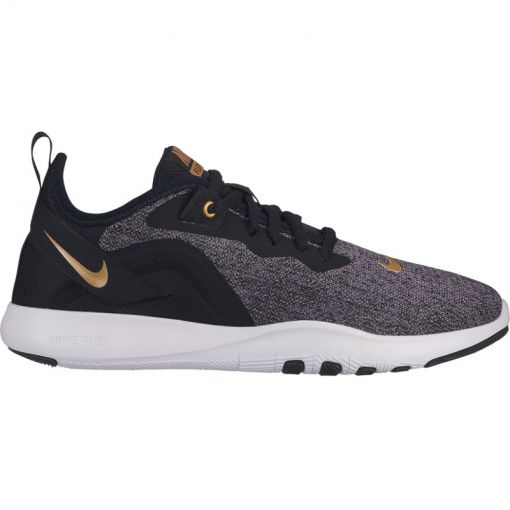 Nike dames  Flex TR 9 Women's Training schoen - 003 BLACK/METALLIC GOLD-GUNSMO
