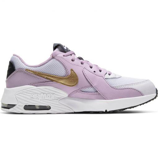 Nike meisjes schoenen Air Max Excee Big Kids' - 102 WHITE/METALLIC GOLD-ICED L