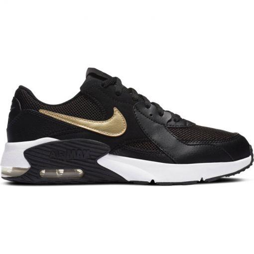 Nike meisjes schoenen Air Max Excee Big Kids' - 006 Black/Mtlc Gold