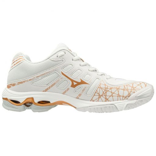 Mizuno dames indoorschoen Wave Voltage - 52 NibusCloud/Wht