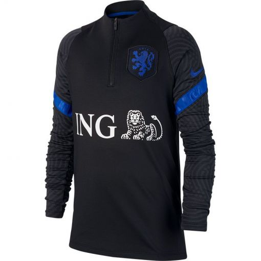 Nike Dri-Fit Netherlands Strike - 011 Black/Blue