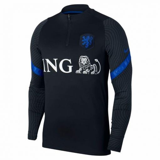 Nike Dri-Fit Netherlands Strike - 011 Black/Bright Blue