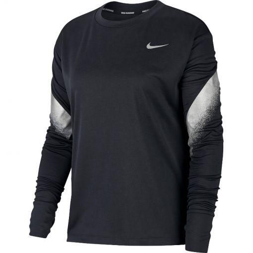 Nike dames hardloop Running Top - Zwart