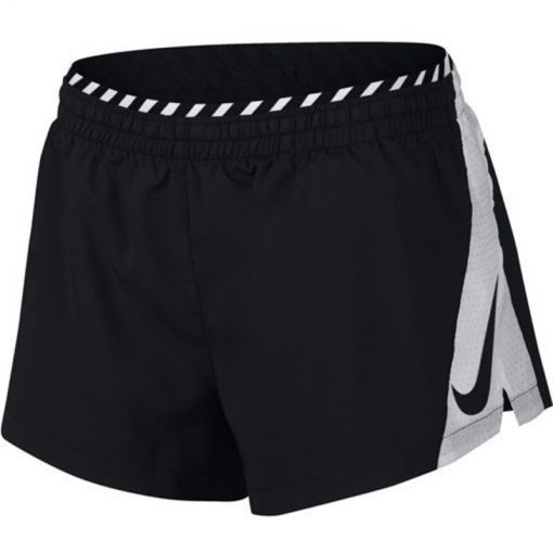 Nike dames short Women Lined Running Short - 077 Lt Grey