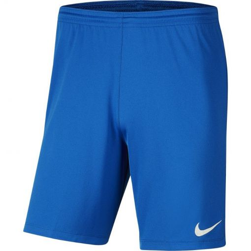 Nike voetbal short Dri-Fit Park III Men's Soccer - 463 ROYAL BLUE/WHITE