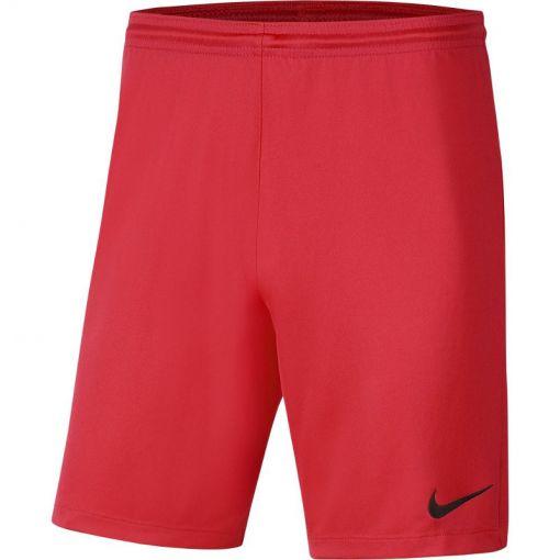 Nike voetbal short Dri-Fit Park III Men's Soccer - 635 BRIGHT CRIMSON/BLACK