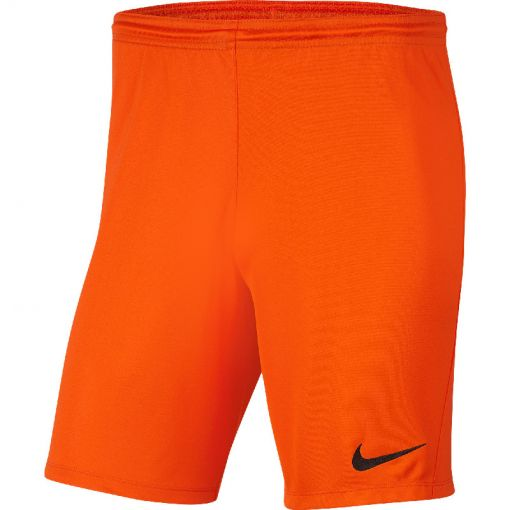 Nike voetbal short Dri-Fit Park III Men's Soccer - 819 SAFETY ORANGE/BLACK