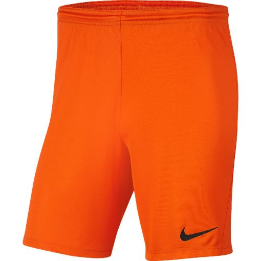 Nike voetbal short Dri-Fit Park III Big Kids' Socc - 819 SAFETY ORANGE/BLACK