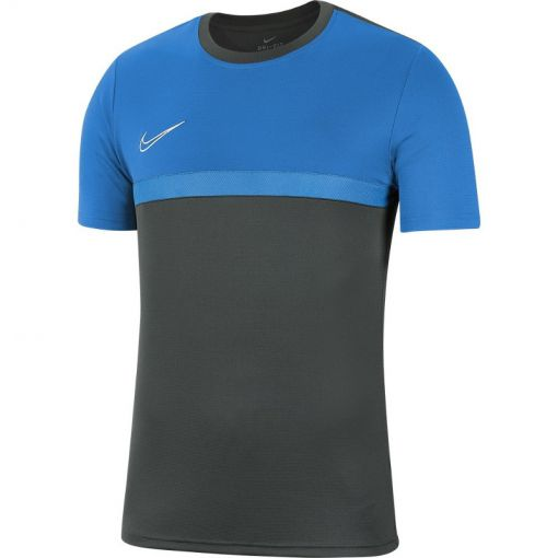 Nike heren shirt Dry Academy20 Top SS - 075 ANTHRACITE/PHOTO BLUE/PHOT