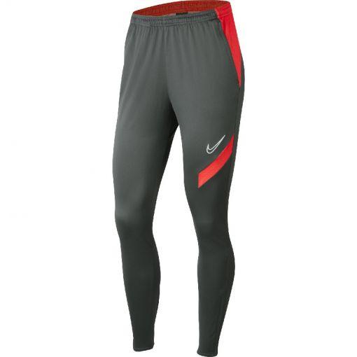 Nike dames trainingsbroek Dry Academy20 Pant KPZ - 067 ANTHRACITE/BRIGHT CRIMSON/