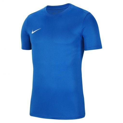 Nike heren t-shirt Dri-Fit Park VII Men's Soccer - 463 ROYAL BLUE/WHITE