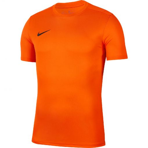 Nike junior t-shirt Dri-Fit Park VII Big Kids' - 819 SAFETY ORANGE/BLACK