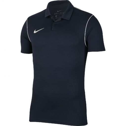 Nike heren polo Dri-Fit Park Men's Soccer - 410 OBSIDIAN/WHITE/WHITE