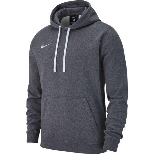Nike heren trui Hoodie PO Fleece Team Club 19 - 071 Charcoal Heather