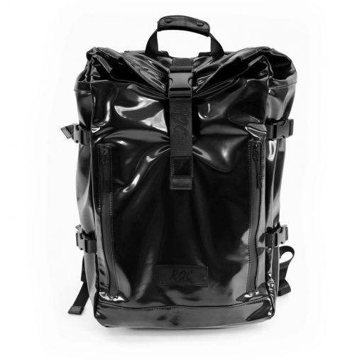 ROC rugzak Roller Backpack Abel - Zwart