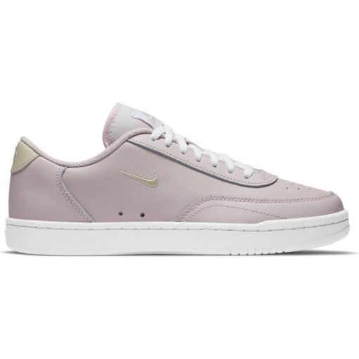 NIKE COURT VINTAGE WOMEN'S SHOE - 600 BARELY ROSE/FOSSIL-WHITE