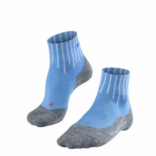 Falke dames sokken TK5 Short Equalizer - Blauw