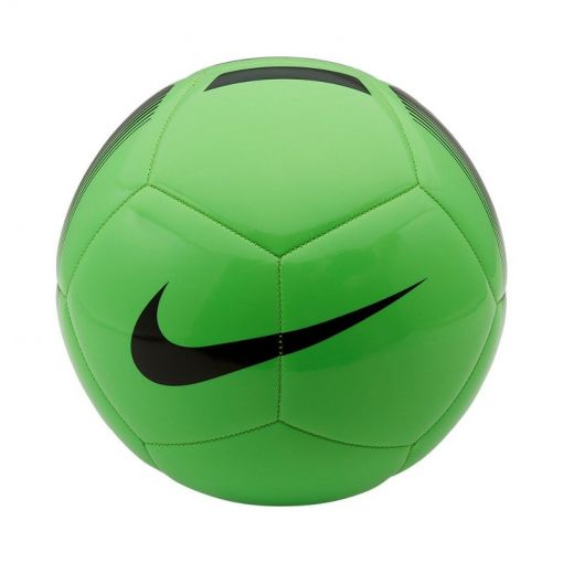 Nike voetbal Pitch Team Soccer Ball - 398 GREEN STRIKE/BLACK