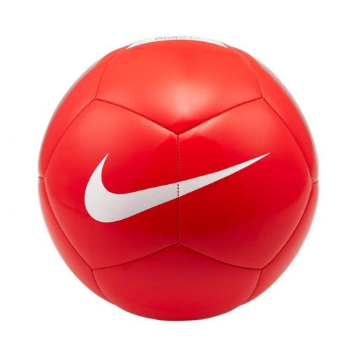 Nike voetbal Pitch Team Soccer Ball - 610 BRIGHT CRIMSON/WHITE