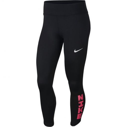 Nike dames tight Icon Clash Fast - Zwart