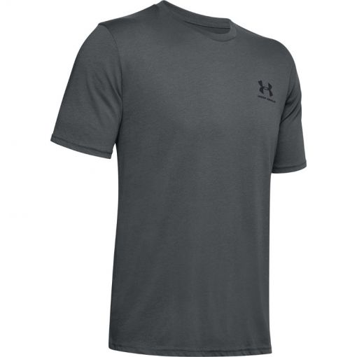 Under Armour heren shirt Sportstyle Left Chest SS - Grijs