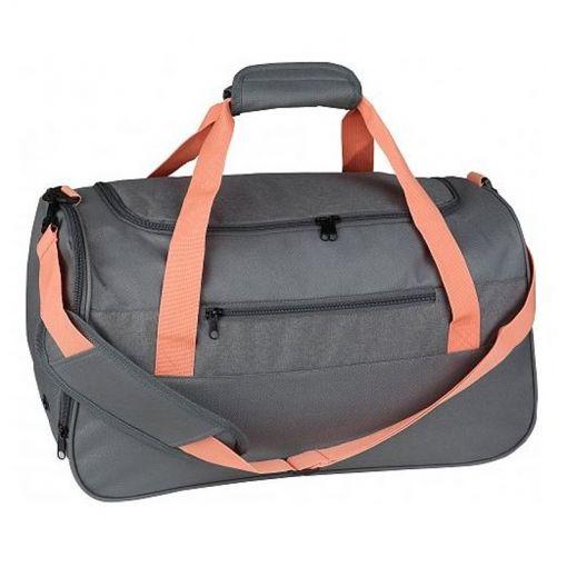 Lady Duffle bag - Grau-apricot