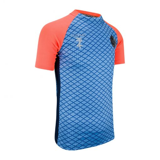 Touzani junior voetbal shirt Rabona Jr. - 5 Blue/Neon Red