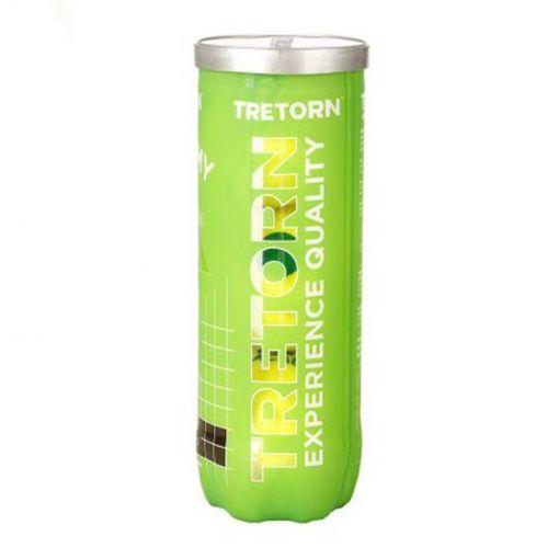Tretorn tennisballen Academy Green - Groen