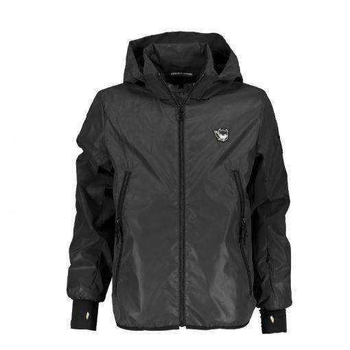 SuperRebel jongens jacket Reflective - 091 Black Reflective