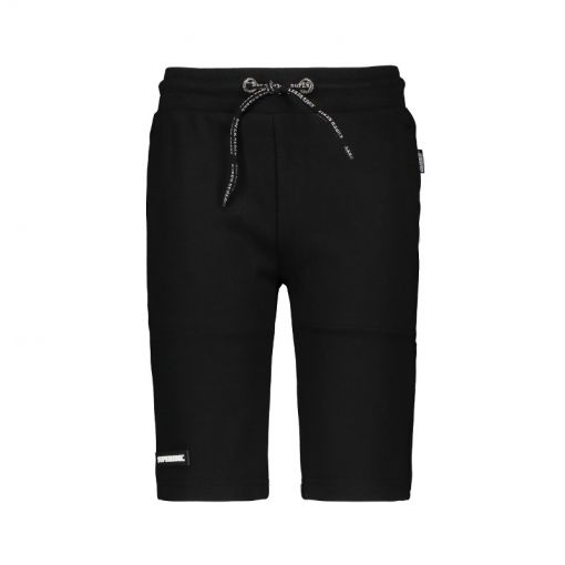SuperRebel jongens short Heavy Interlock All-Over - Zwart