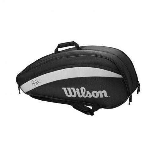 Wilson tennistas Rf Team 6 - Zwart