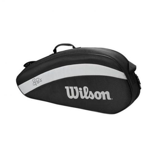 Wilson tennistas Rf Team 3 - Zwart