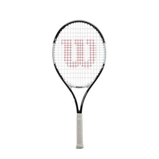 Wilson junior tennisracket Roger Federer - Zwart