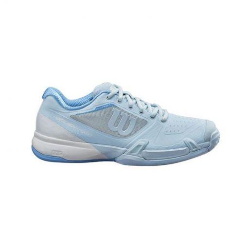 Wilson dames tennisschoenen Rush Pro 2.5 W - Omphalodes/Wh/Al