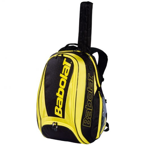 Babolat tennis rugzak Back Pure Aero - 191 Black/Yellow