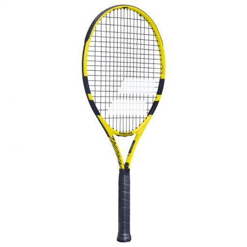 Babolat junior tennisracket Nadal Jr 26 - Geel