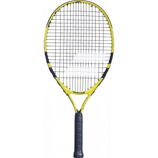 Babolat junior tennisracket Nadal Jr 25 - Geel