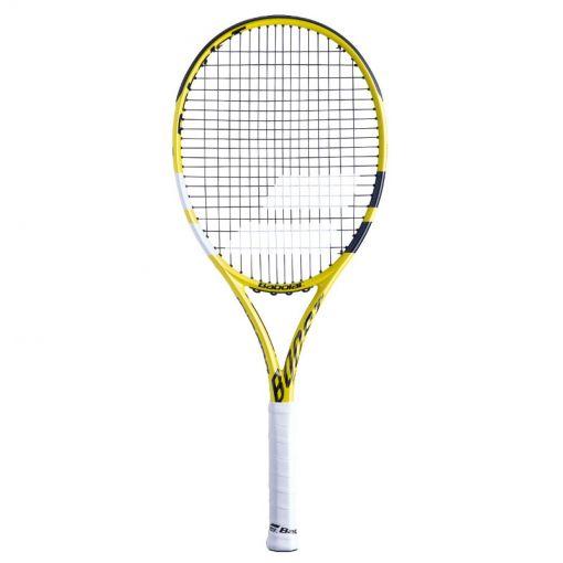 Babolat tennisracket Boost A Strung - Geel