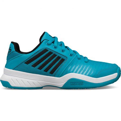 K-swiss junior tennisschoen Court Express Omni - Blue/Blk/White