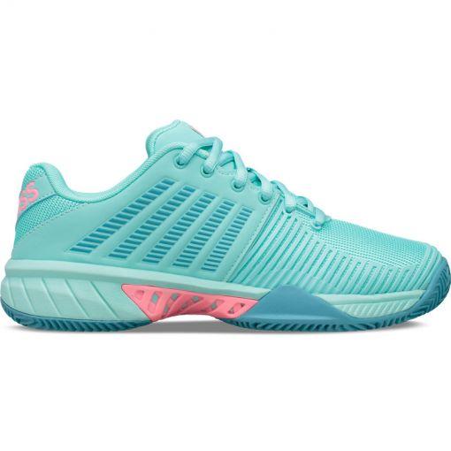 K-swiss dames tennisschoen Express Light - Blue/Pink