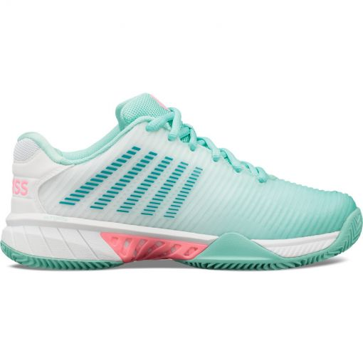 K-swiss dames tennisschoen Hypercourt Express - Blue/Pink