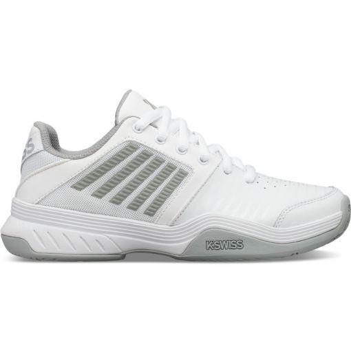 K-swiss dames tennisschoen Court Express - White/Higrise/Silver