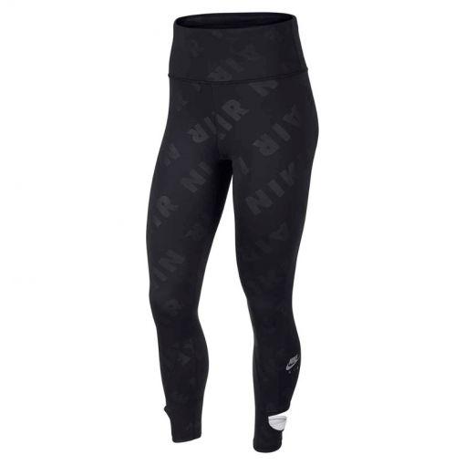 Nike dames hardloop tight 7/8 Running - Zwart