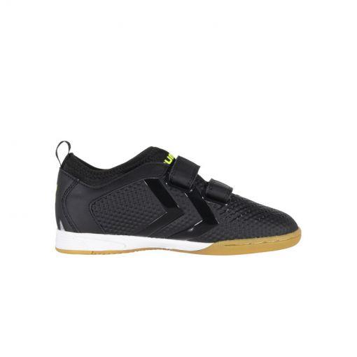 hummel Zoom JR IN - 8410 Black-Neon Yellow
