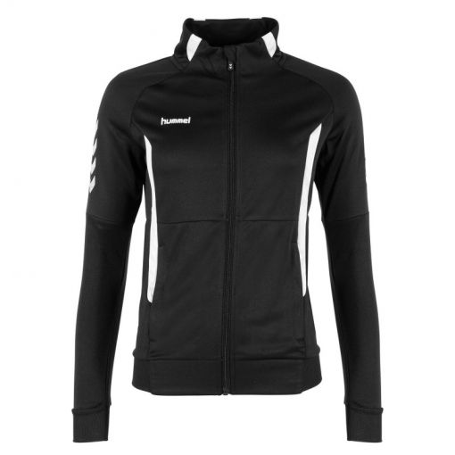 Hummel Authentic Ladies Jacket FZ T - 8200 Black-White