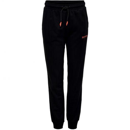 ONPALIDA REGULAR  SWEAT PANTS - 177911002 Black/W. Coral